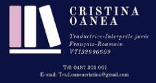 Cristina Oanea, traductrice-interprète jurée / assermentée roumain-français-roumain en Belgique